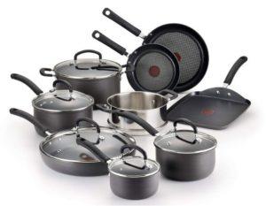 T-fal E765SE Anodized Cookware