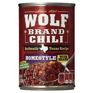 Wolf Brand Canned Chili