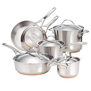 Best Copper Core Analon Nouvelle Cookware
