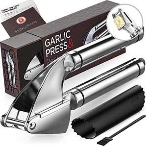 best overall alpha grillers garlic press