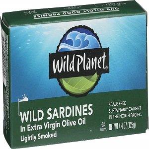 wild planet wild sardines in extra vergin oil