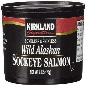 kirkland signature wild alaskan salmon