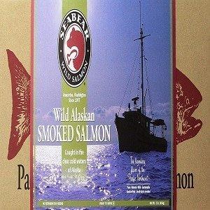 sea bear alaskan canned smoked salmon