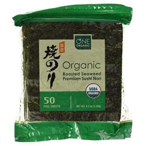 One organic nori
