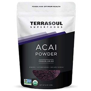 terrasoul superfoods organic acai berry powder