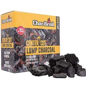 char broil center cut lump charcoal