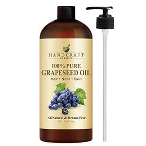 handcraft blends 100% pure grapeseed oil