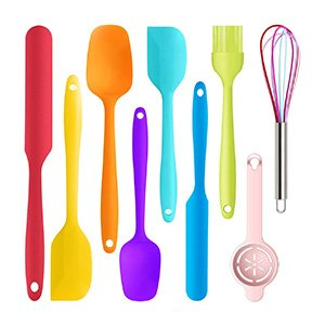 9 piece silicone spatula set