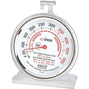 winco tmt oven thermometer
